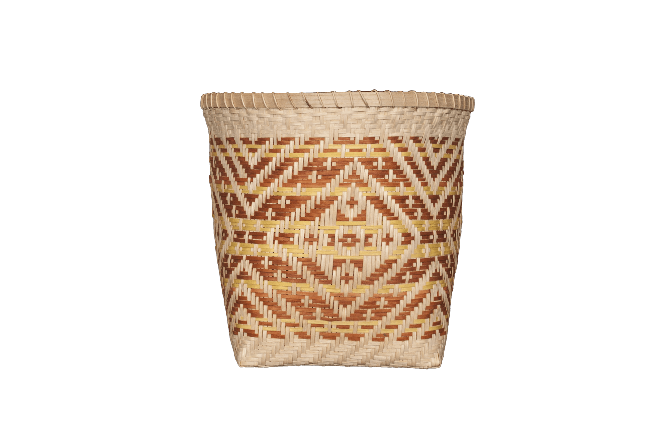 Basket created by Mike Dart from Cherokee Nation